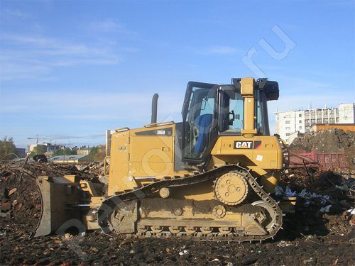 Бульдозер, Caterpillar D6N XL