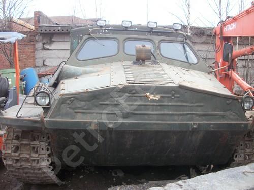 Тяжёлый гусеничный транспортёр-тягач, ГТ-Т