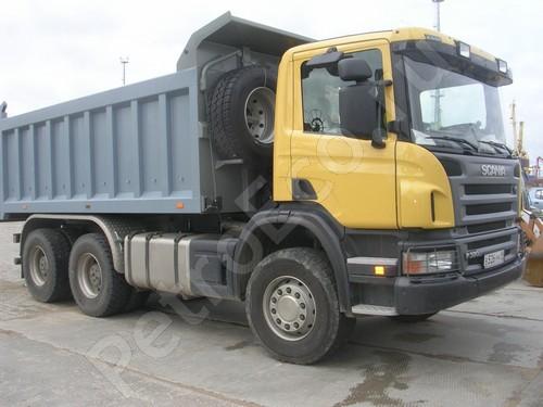 Самосвал, Скания (Scania)