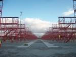 Демонтаж сооружений, земляные работы, устройство основания, прокладка инженерных сетей, монолитные работы, металлоконструкции, благоустройство, Строительство терминала для хранения грузов